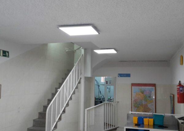 Iluminación Garviled - Escuela Barcelona - Icaro