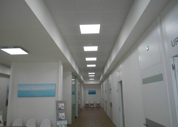 Iluminación Garviled - Centro Asistencial Girona - Icaro