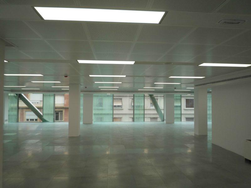 Iluminación Garviled - Oficinas Barcelona - Icaro